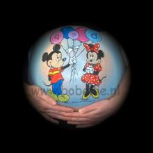 Bellypaint Mickey en Minnie Mouse www.bobellie.nl