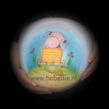 Bellypaint broertje zusje bolderwagen www.bobellie.nl