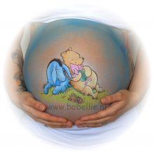 Bellypaint Winnie the pooh